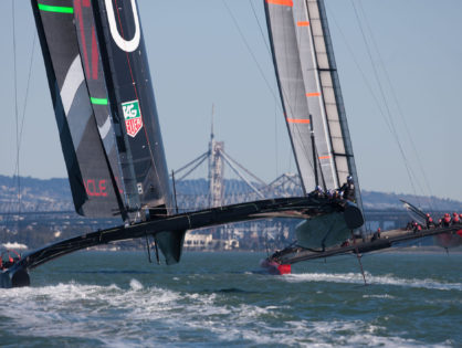 America's Cup Sailing – San Francisco